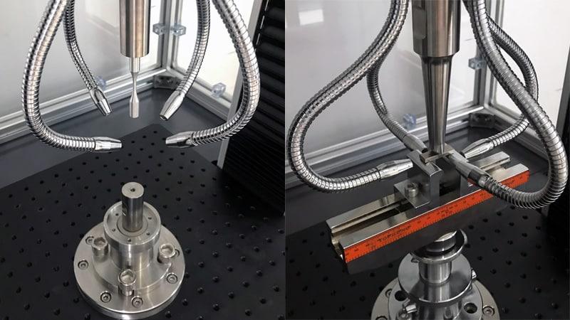 超声波金属疲劳试验过程