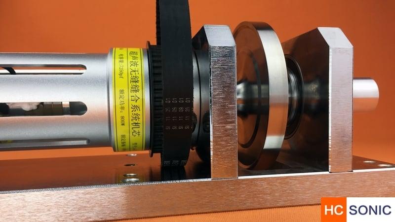 超声波无缝缝合核心机芯部件