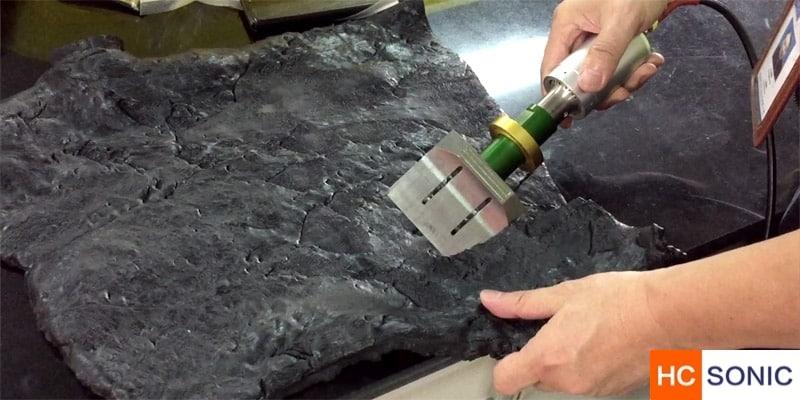 手持式超声波橡胶切割刀