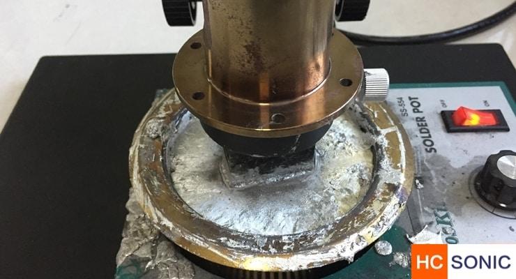 超声波浸焊