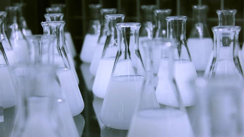 超声波乳化作用下油水混合