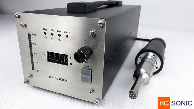 超声波手持式点焊机