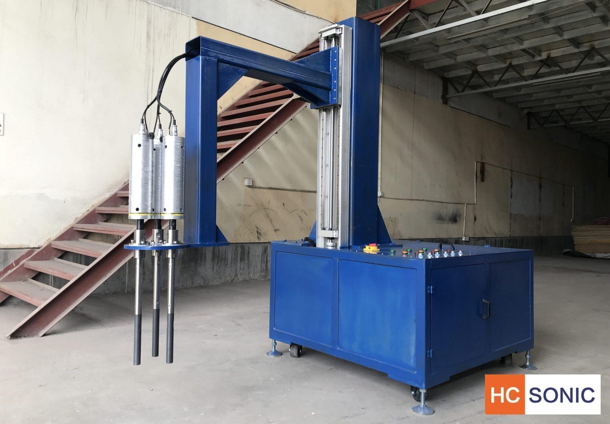 超声波铝熔体升降机