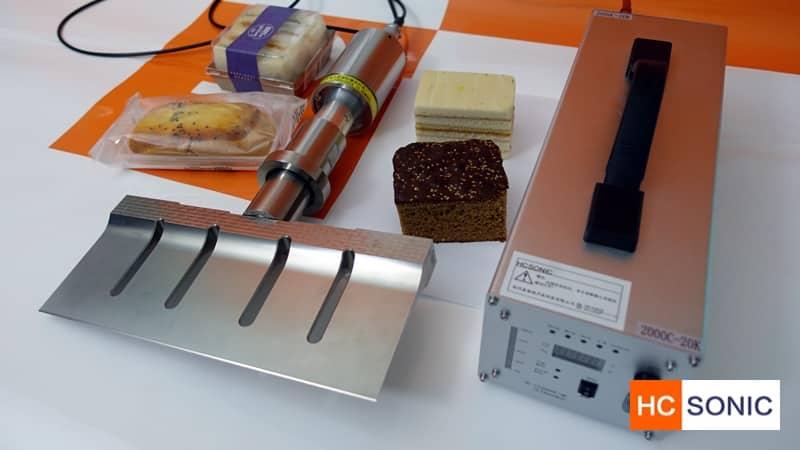 超声波食品切割实验