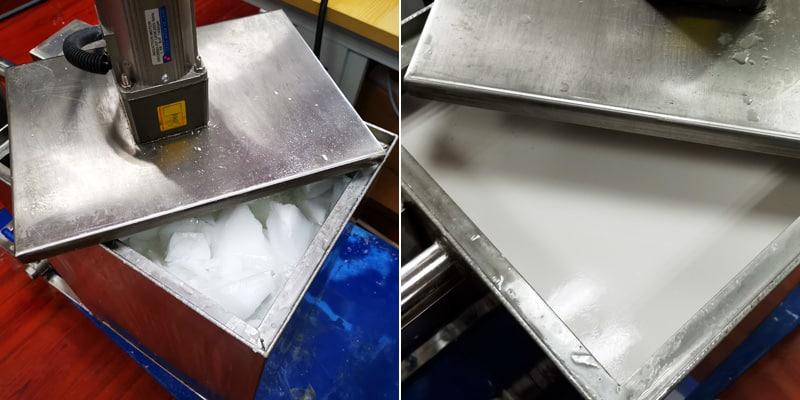 超声波石蜡乳化实验