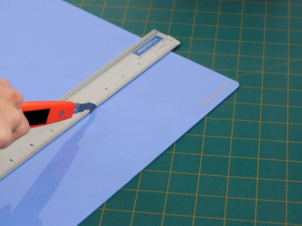 传统塑料切割